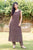 Long Sleeveless Inner with long kurtis and pants with jacket