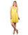 Rachel Lace Details Yellow Short Dresses online india