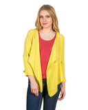 Yellow Waterfall Shrug Tops