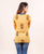 Yellow hand block printed online shopping