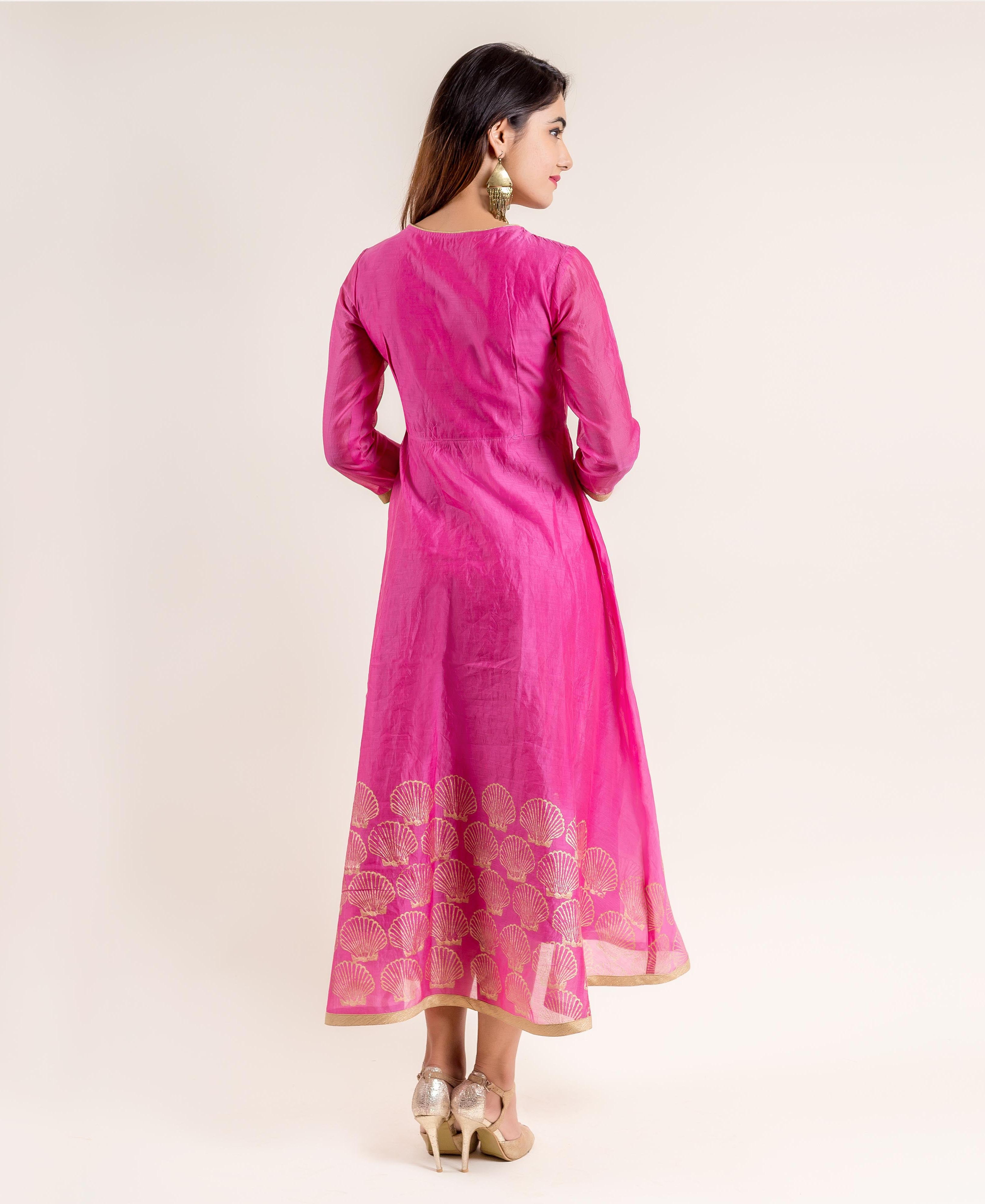angrakha style indian dress online