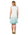 aqua blue indian short dresses online for ladies