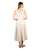 buy online off white short western dress for women and girls