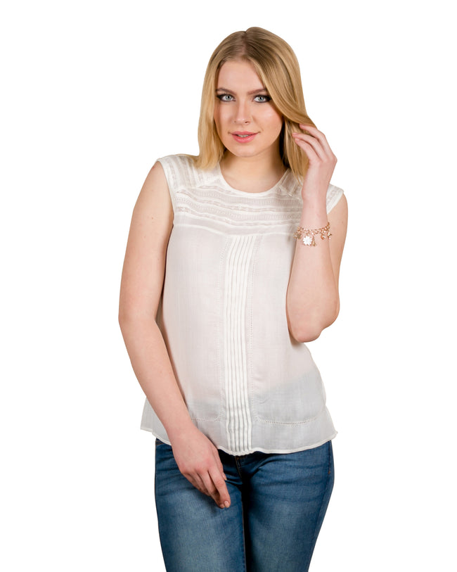 sleeveless tops for ladies online india