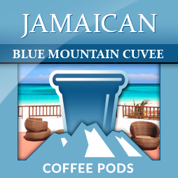 Jamaica Blue Mountain Cuvee Single Coffee Pods 12-pk