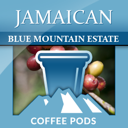 Jamaica Blue Mountain Estate Single Coffee Pods 12-pk