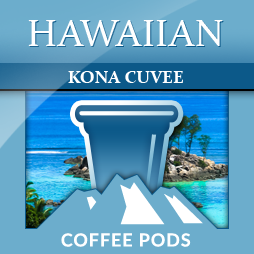 Hawaiian Kona Cuvee Single Coffee Pods 12-pk