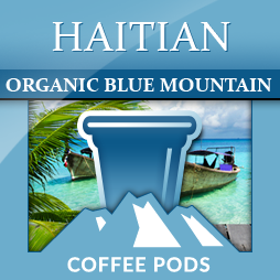 Haiti Blue Mountain Single Coffee Pods 12-pk