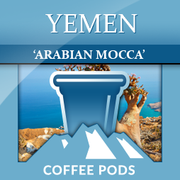 Yemen Mocha Sanini Single Coffee Pods 12-pk