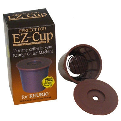 Perfect Pod EZ-Cup Reusable Filter Cup (For Keurig Machines)