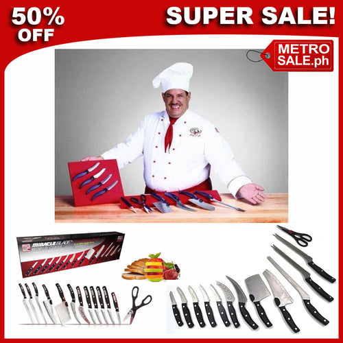 BEST SELLER!!! 13 IN 1 Authentic Blades Knife Set