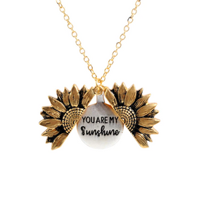 Sunflower Locket (LESS 72% - Blow Out Sale!)