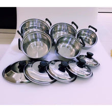 Load image into Gallery viewer, 5Pcs set First Class Stainless Steel Combination Series