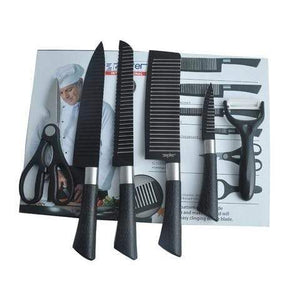 6 Pieces Kitchen Professional Chef Knife Set