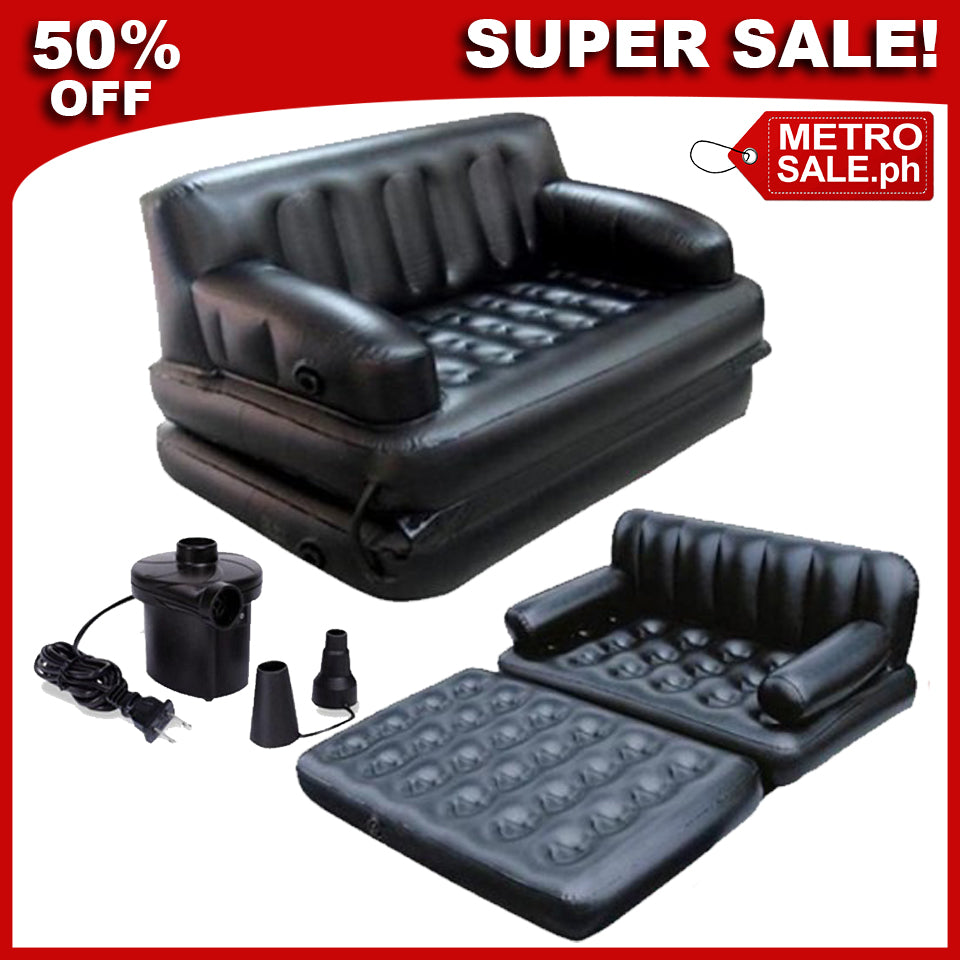 Miraculous Comfy 5 In 1 Sofa Bed Free Air Pump Gmtry Best Dining Table And Chair Ideas Images Gmtryco