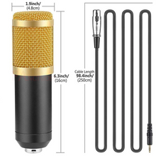 Load image into Gallery viewer, BM-800 Live Stream Condenser Microphone Set