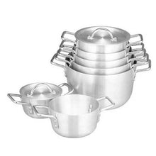 Load image into Gallery viewer, 14 Pcs Aluminum Cooking Pot Set