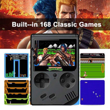 Load image into Gallery viewer, Classic 168 in 1 Mini Retro Games