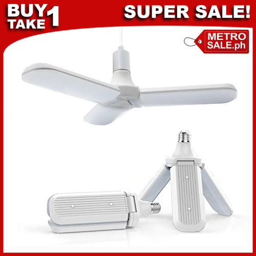 Foldable Fan Blade Ceiling Lamp (4-PIECES + FREE SHIPPING)