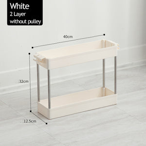 4-Layer Movable Shelf