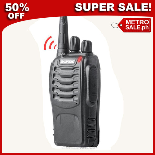 (ALMOST SOLD OUT) Walkie Talkie Two-way Portable CB Radio: One Pair