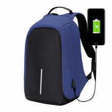 Load image into Gallery viewer, Waterproof Anti-Theft USB Charging Port Backpack