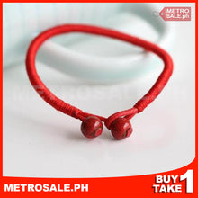 Load image into Gallery viewer, Lucky Red Mantra Bracelet (Buy 1 take 1)