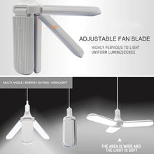 Load image into Gallery viewer, Super Bright Foldable Fan Blade Ceiling Lamp