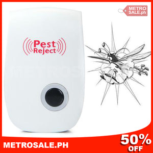 (ALMOST SOLD OUT & BUY 1 TAKE 2!) GreatHouse™ Ultrasonic Pest Repeller
