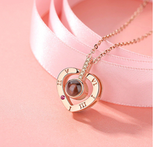 Load image into Gallery viewer, (ALMOST SOLD OUT & BUY 1 TAKE 1!)  L'amour Necklace & Ring (I Love You in 100 Languages)