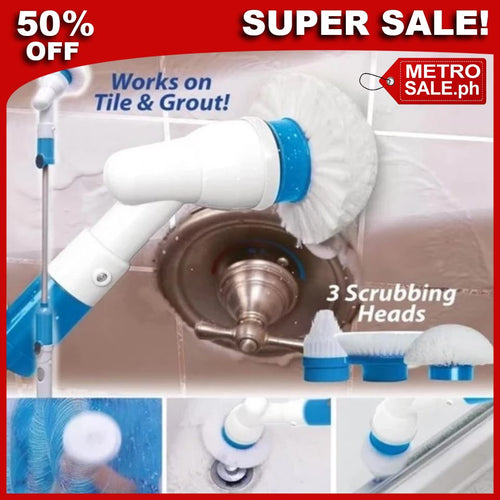 AMAZING SPIN SCRUBBER ⭐⭐⭐⭐⭐