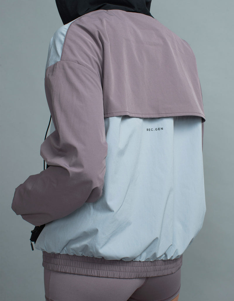 Patch Exo Jacket Mauve/Black