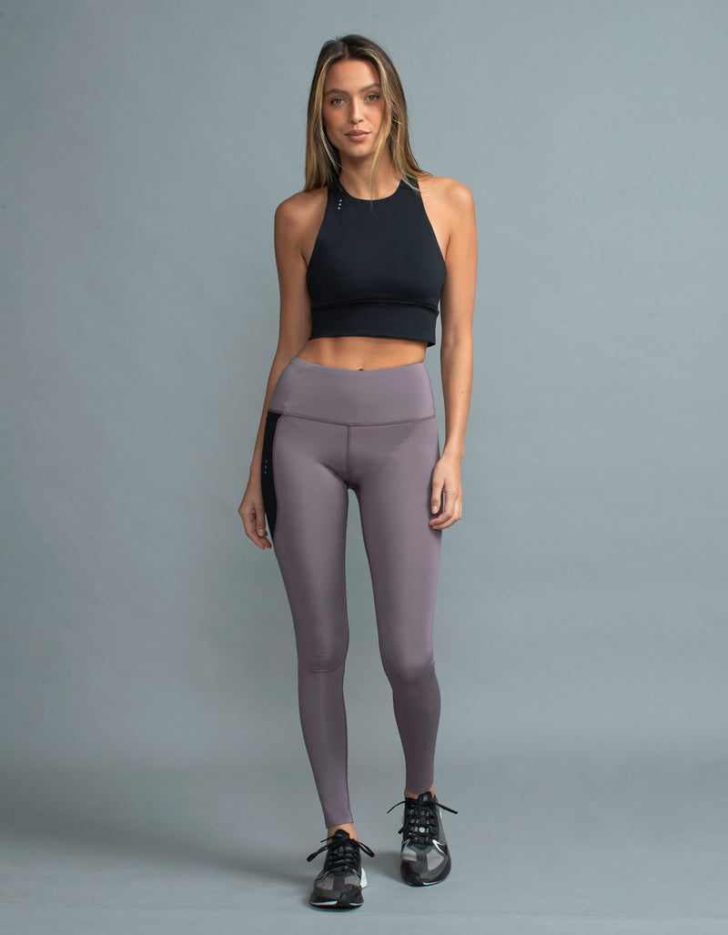 Hold Full Legging Mauve/Black