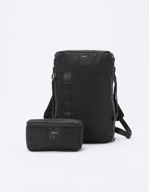 Compact Backpack Black