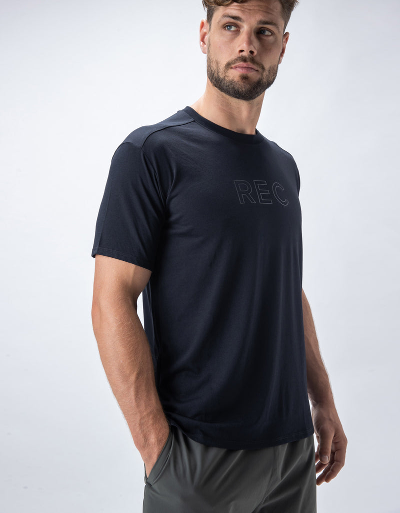 Edge Oxy Tee Blackout
