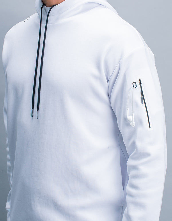 Flex Hoody Optic White
