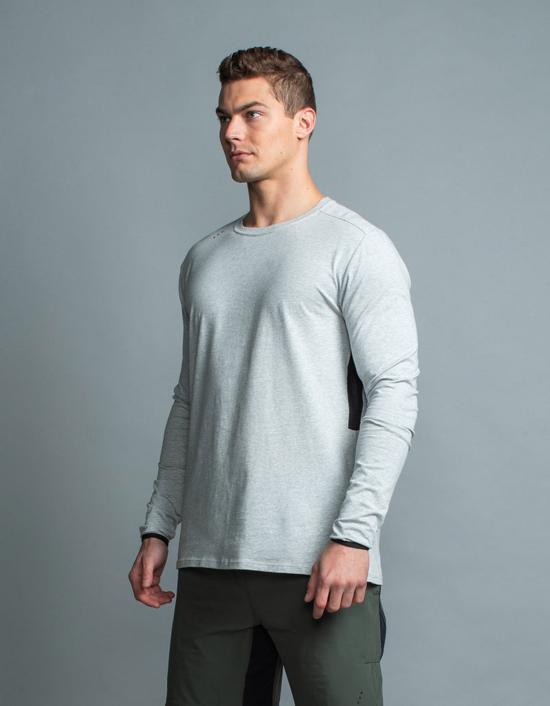 Form LS Tee Silver Marle