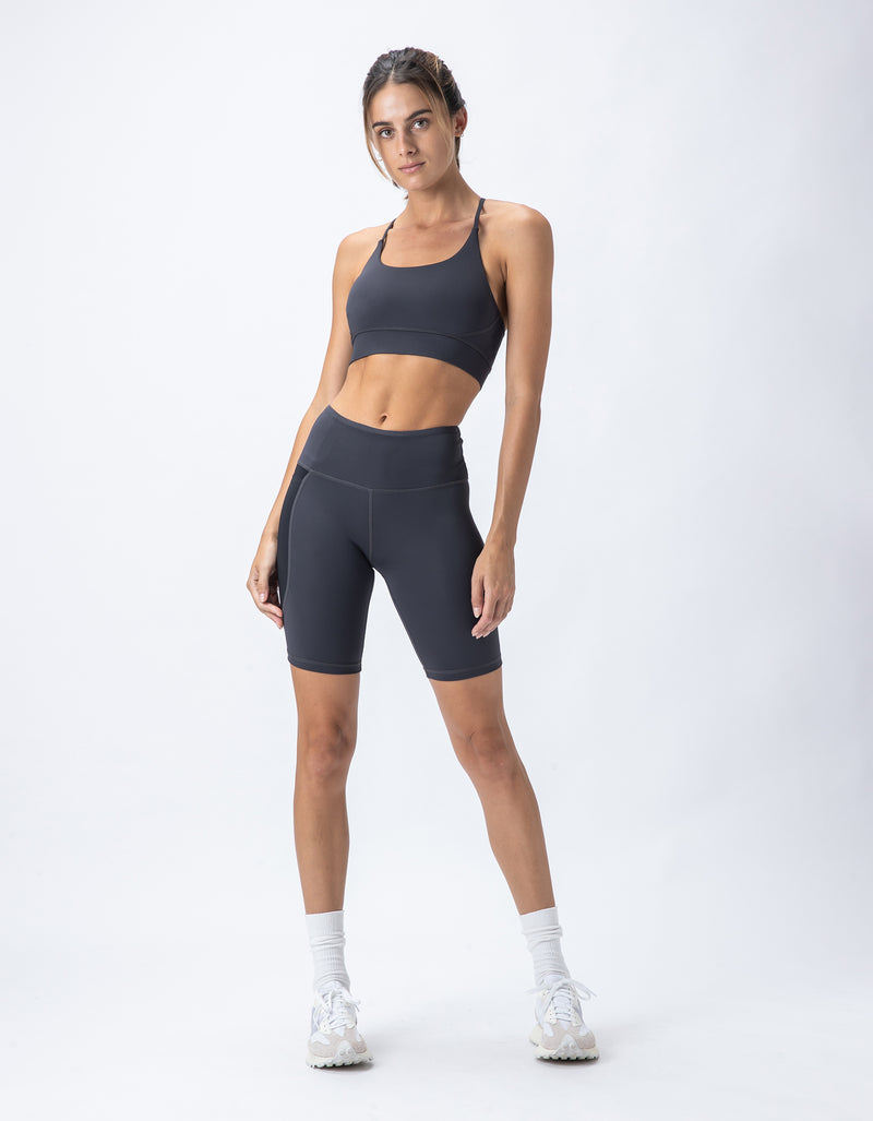Hold Sports Bra Graphite/Black