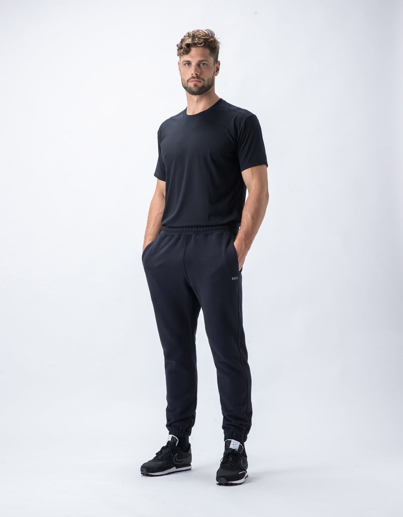 Rest Fleece Jogger Black