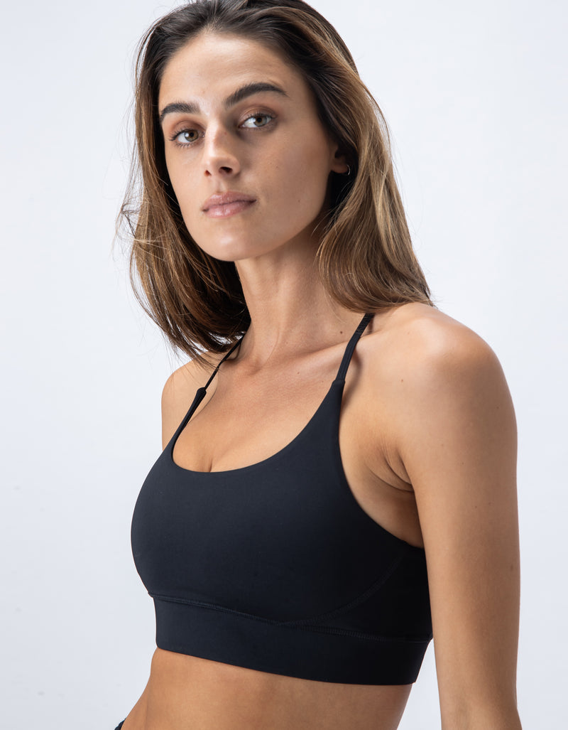 Hold Sports Bra Blackout