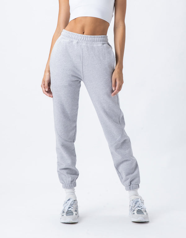 Rest Fleece Jogger Silver Marle