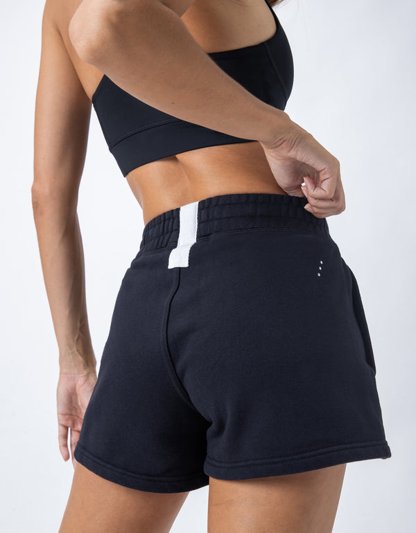 Rest Fleece Short Black