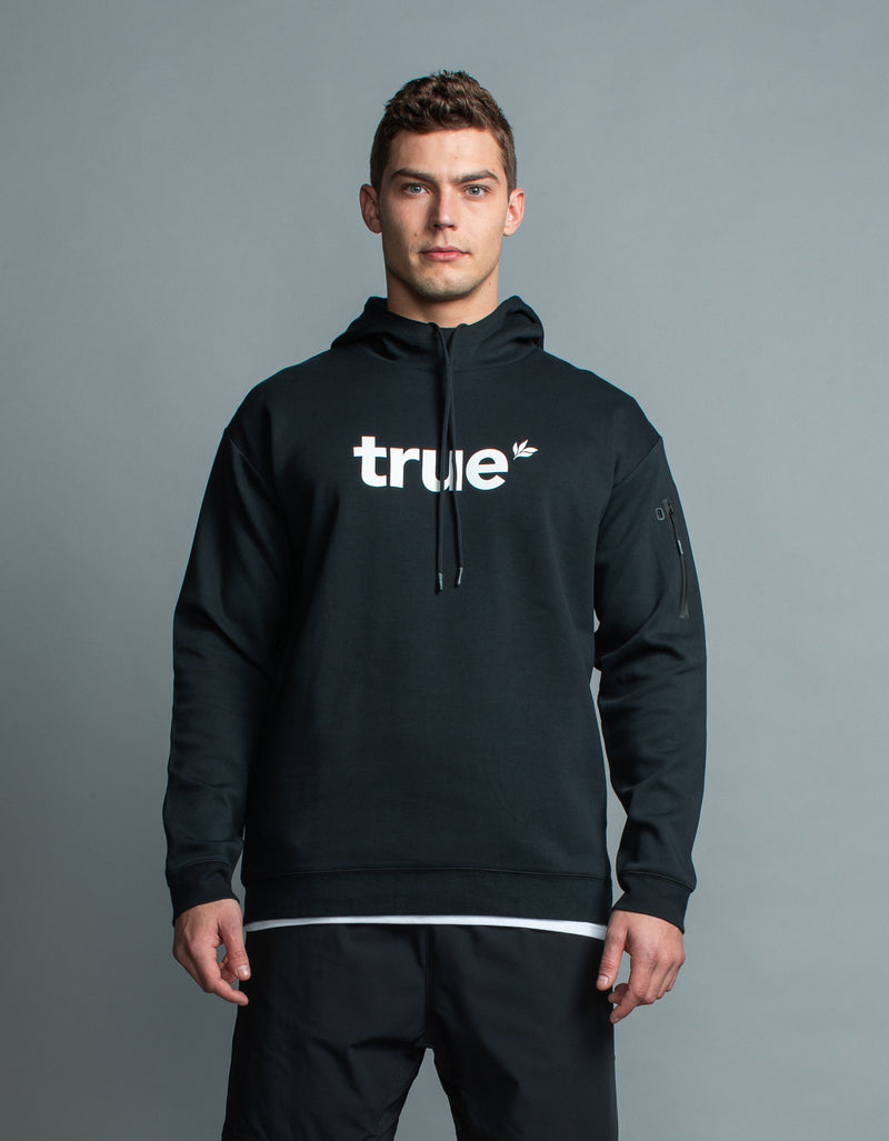 True Flex Hoody Black/White