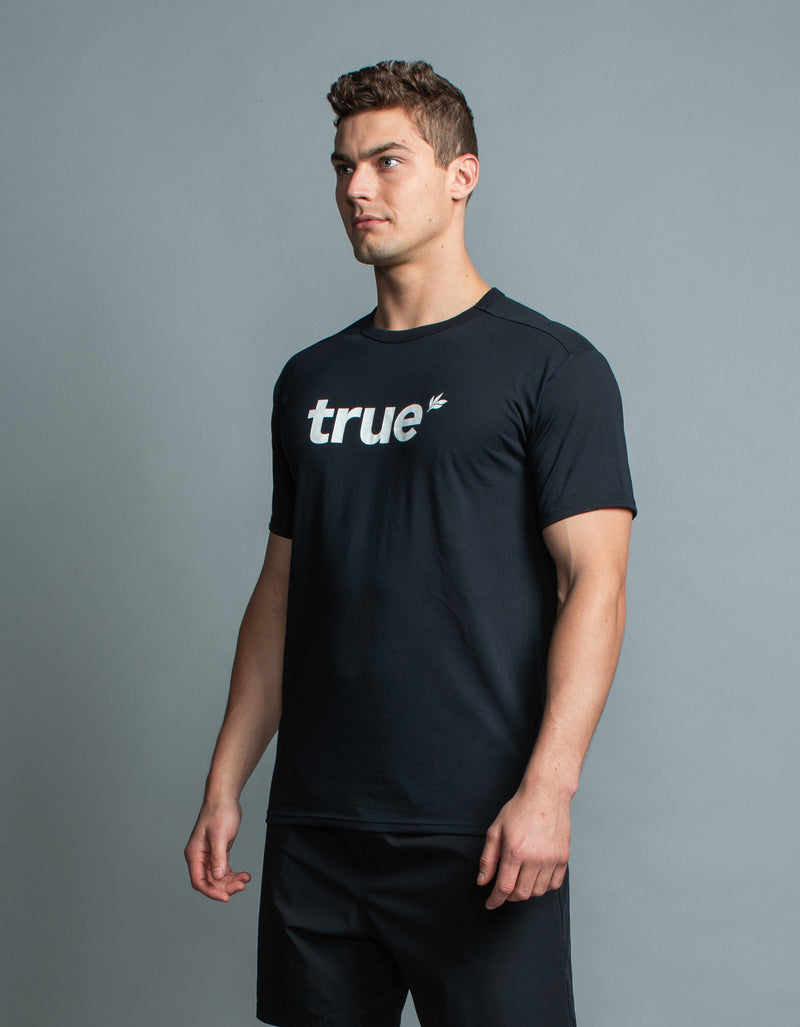True Oxy Tee Black/White