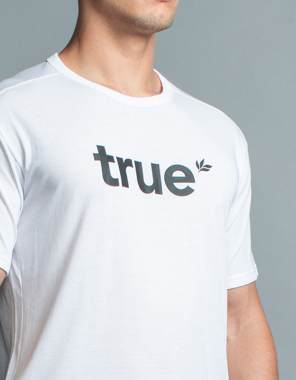 True Oxy Tee Optic White/Black