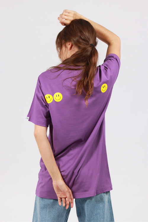Smiley T-Shirt - purple