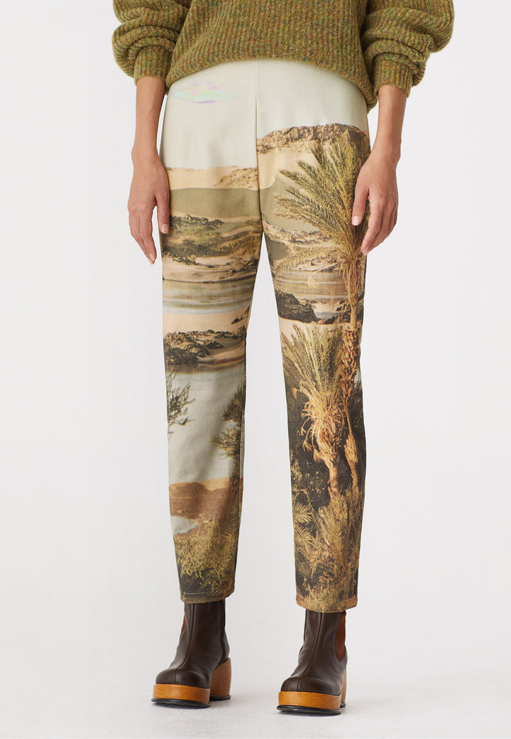 Woody Pants - light brown