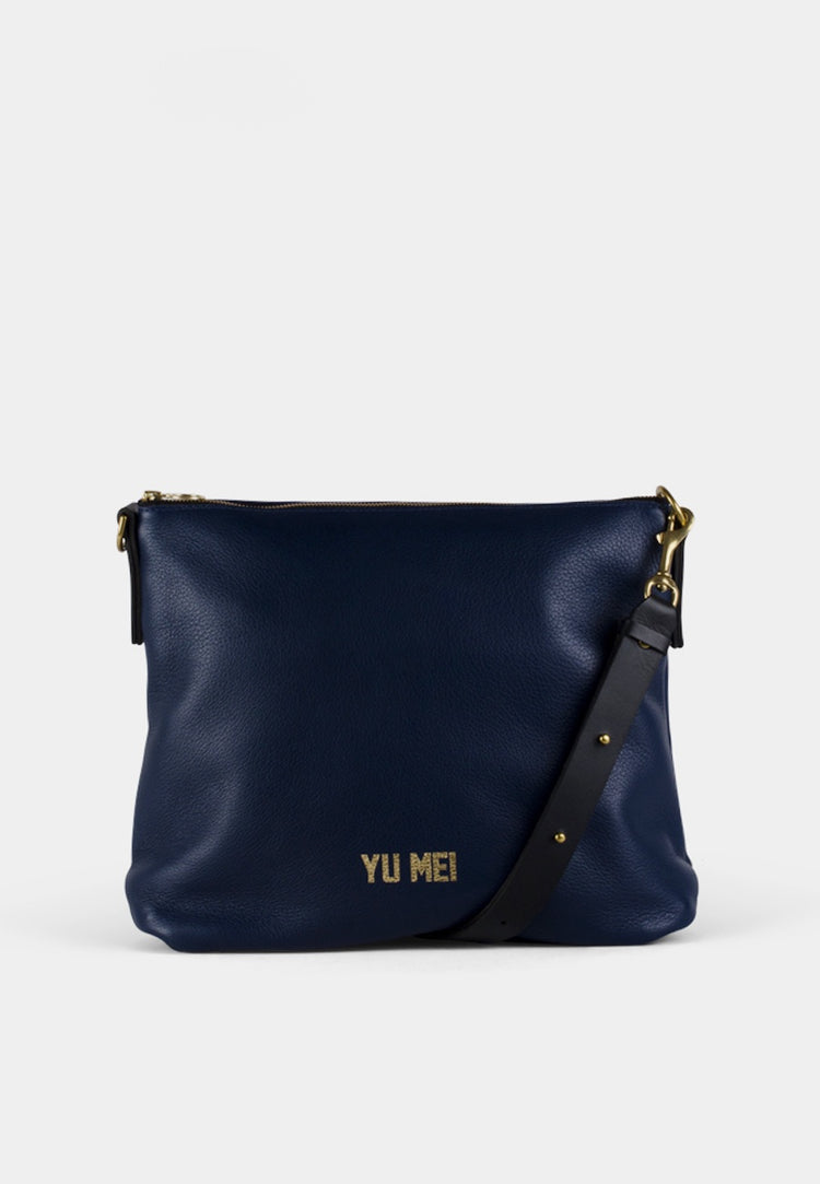 Yu Mei 3/4 Braidy Bag - indigo - Good as Gold