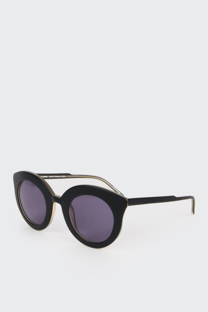 Song of the Siren Sunglasses - black/tobacco stain