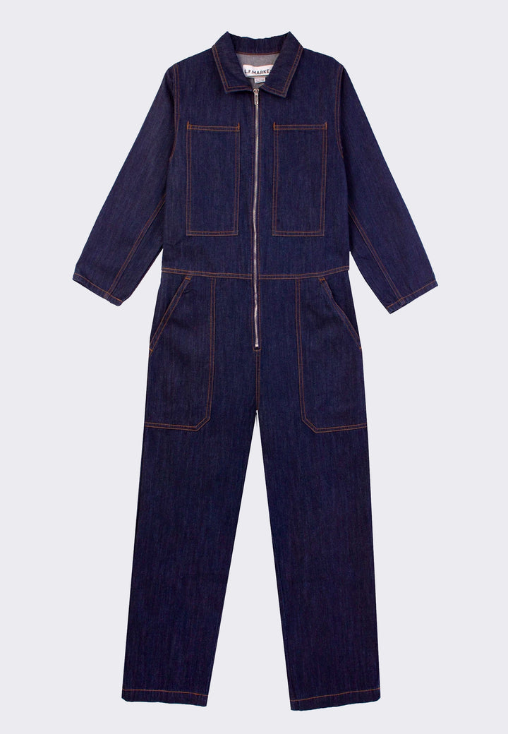 Dominic Boilersuit - indigo